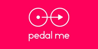Pedal me logo